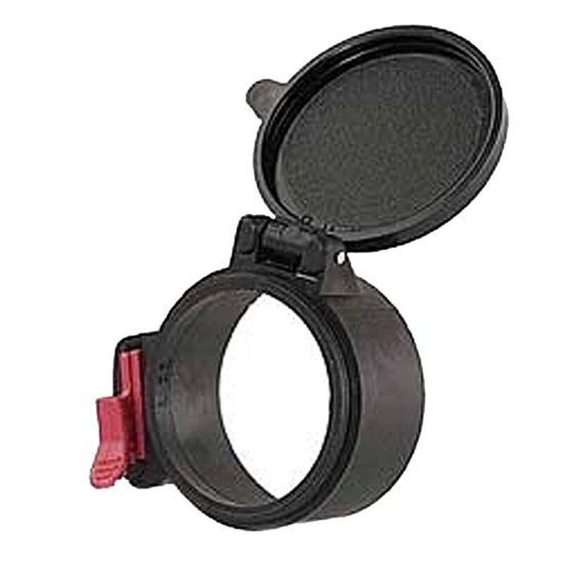 Multi-Flex Flip-Open Scope Objective Cover Size 25 26 & 27 Black