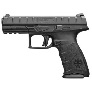 "Beretta APX Semi Auto Pistol 9mm 4.25"" Barrel 17 Rounds Polymer Frame Black"