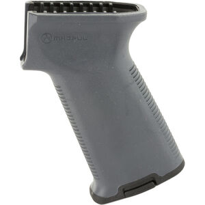 Magpul MOE MOE AK+ Grip - AK-47/AK74 Drop In Replacement Rear Pistol Grip Polymer Rubber Overmold Gray MAG537-GRY