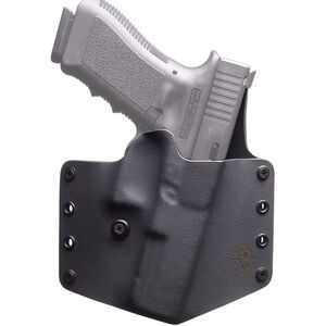 BlackPoint Standard SIG Sauer P320 OWB Holster Right Hand Kydex Black