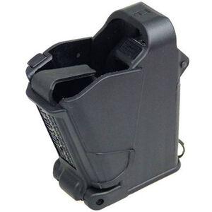 Maglula UpLULA Universal Pistol Magazine Loader 9mm/.357SIG/.40S&W/10mm/.45ACP Polymer Black UP60B