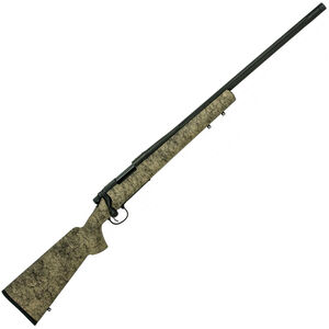 "Remington 700 5-R Gen 2 6.5 Creedmoor Bolt-Action Rifle 24"" Fluted Stainless Steel Threaded Barrel 4 Rounds H-S Precision Stock Black Cerakote Finish"
