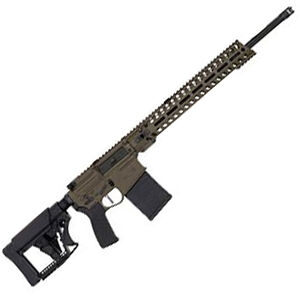 "POF Rogue Prescott 6.5 Creedmoor Semi Auto Rifle 20"" Barrel 20 Rounds Profile 14"" Renegade Rail Patriot Brown"