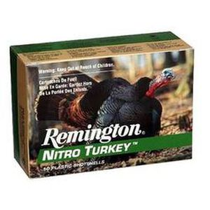 "Remington Nitro Turkey 20 Gauge Ammunition 10 Rounds 3"" #5 Plated Lead 1-1/4 Ounce NT20M5"