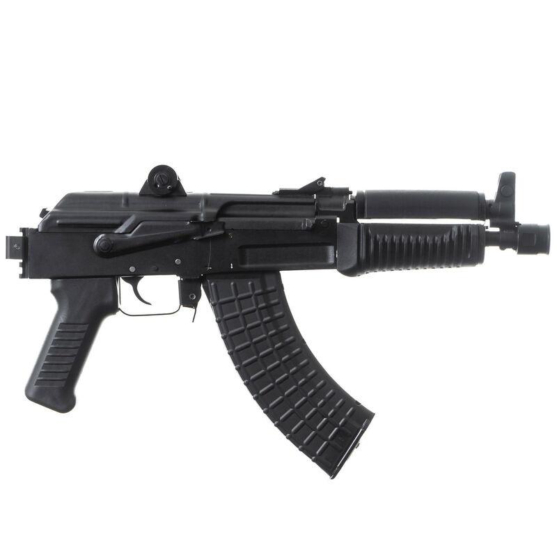 "Arsenal SAM7K AK-47 7.62x39mm Semi Auto Pistol 8.5"" Barrel 5 Rounds Milled Receiver Rear Polymer Hand Guard Matte Black"