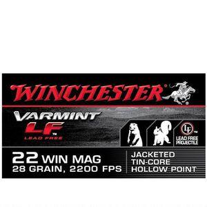 Winchester Varmint LF .22 WMR Ammunition 50 Rounds Poly Tip 25 Grains