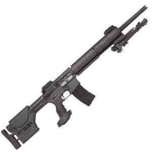 "DPMS Panther Arms Mini SASS 5.56 NATO AR-15 Semi Auto Rifle 18"" Barrel 30 Rounds Free Float Aluminum Quad Rail Magpul PRS Stock Panther Tactical Pistol Grip Matte Black"