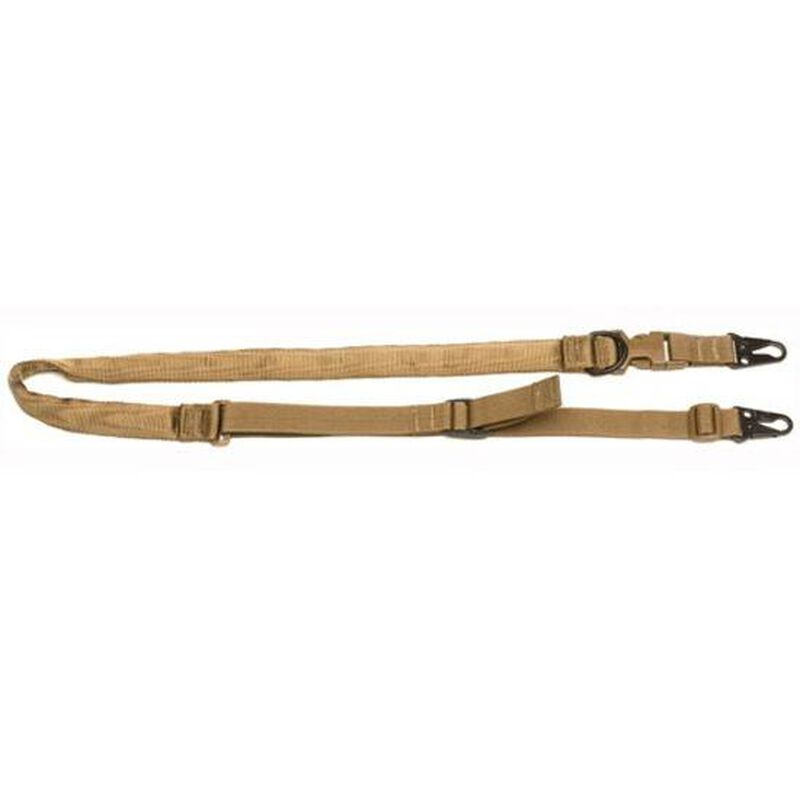 """Tac Shield Warrior 2N1 Padded Tactical Sling 1.25"""" Coyote T6030CY"""