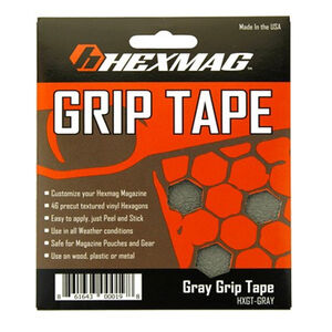 Hexmag Grip Tape for AR-15 Hexmags Gray 46 Hex Shapes HXGTGRY