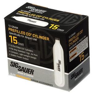 Sig Sauer Prefilled CO2 Cylinder 12 Gram 15 Pack