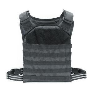 Voodoo Tactical Rapid Assault Tactical Plate Carrier Vest Black 20-901701000