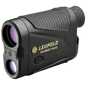 Leupold RX-2800 TBR/W with Alpha IQ Laser Rangefinder 7x Magnification 2800 Yard Max Range Inclinometer Armor Coated Black