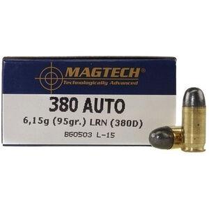 Magtech .380 ACP Ammunition 95 Grain LRN 951 fps