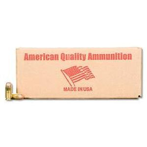American Quality .40 S&W Ammunition 50 Rounds FMJ 180 Grains N40180