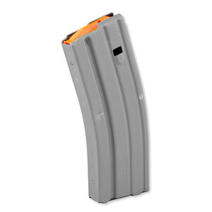 DURAMAG By C-Products Defense AR-15 .223/5.56 Magazine 10 Rounds Aluminum Gray 3023002178CPDL10