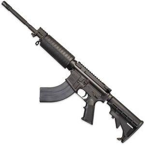 "Windham Weaponry SRC 7.62x39mm Semi Auto Rifle 7.62x39mm 16"" Barrel 30 Rounds M4 Handguard 6 Position Collapsible Stock Hard Coat Anodized Black R16M4FTT-762"