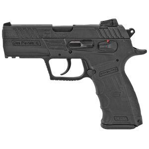 "SAR Arms CM9 9mm Luger Semi Auto Pistol 3.8"" Barrel 17 Rounds Magazine Adjustable 3 Dot Sights Ambidextrous Controls Picatinny Rail Matte Black"