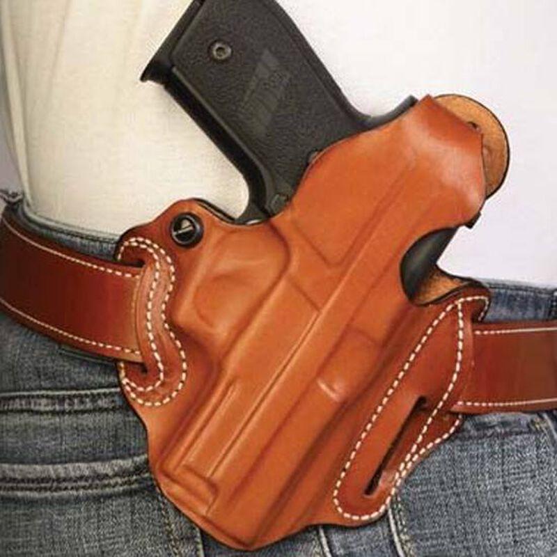 DeSantis Thumb Break Scabbard Belt Holster Walther PK380 Right Hand Leather Tan 001TAP1Z0