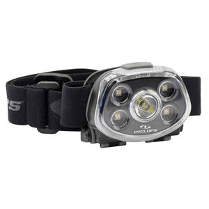 Cyclops Force XP 350 Lumens Headlamp 350 Max Lumens Cree LED Bulb 3 AAA Batteries Polymer Black