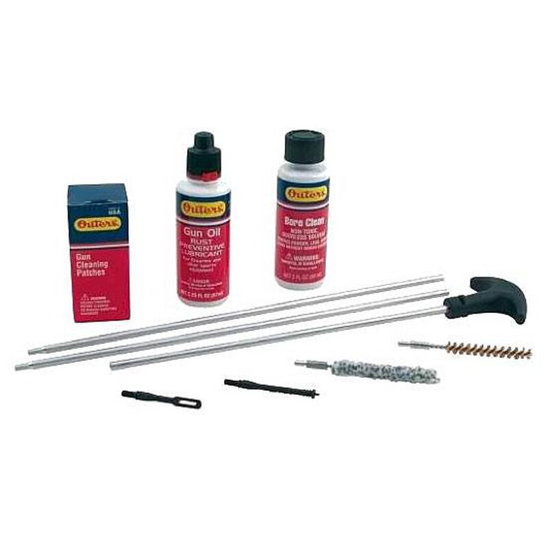 Outers Rifle Cleaning Kit .270 to .284 Caliber and 7mm 98221