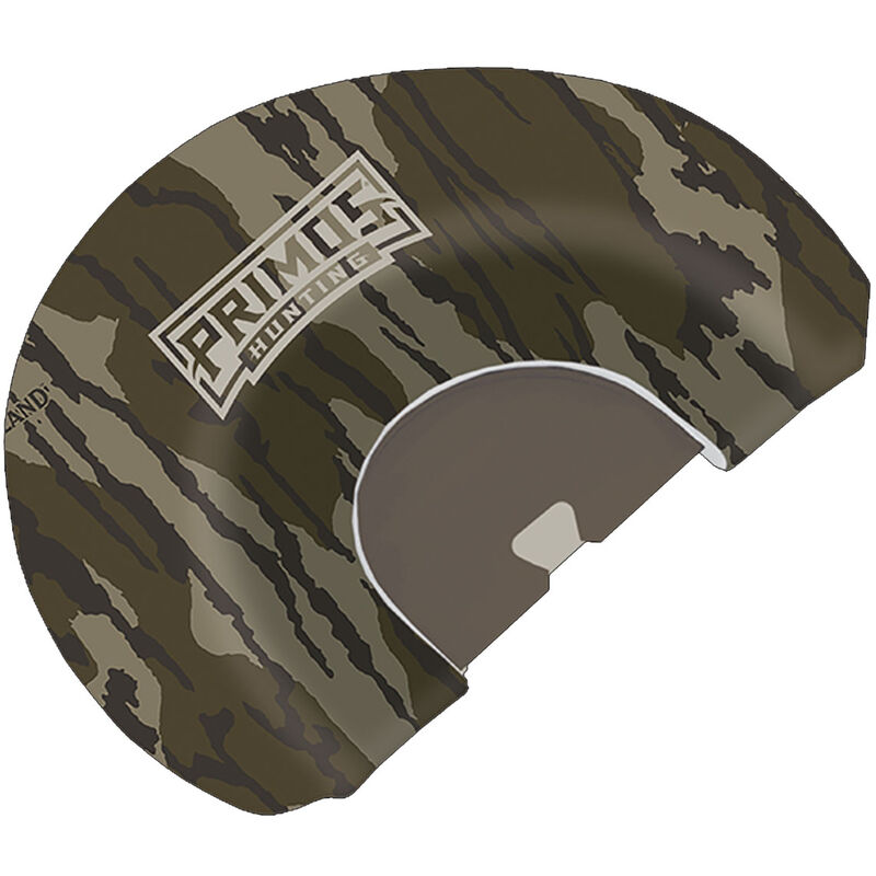 Primos Original Bottomland with Ghost Cut Mouth Yelper Turkey Mouth Call Mossy Oak Camo