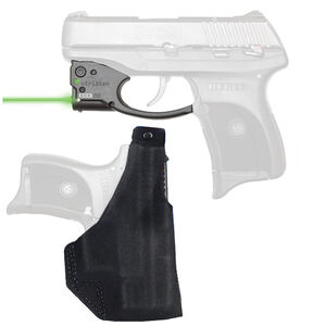 Viridian R5 Reactor Green Laser Sight with Galco Paddle Holster for Ruger LC9 Right Hand Draw Black R5-LC9-GPL