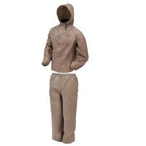 Frogg Toggs Ultra-Lite2 Rain Suit Medium Khaki UL12104-04-MD
