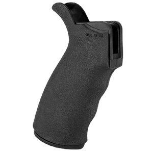 JE Machine Tech AR-15 Textured Rubber Pistol Grip with Storage Compartment Rubberized Black