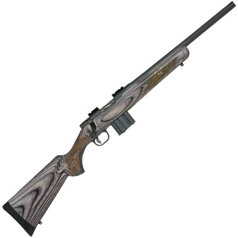 "Mossberg MVP Predator Bolt Action Rifle 5.56 NATO/.223 Rem 18.5"" Fluted and Threaded Barrel 10 Rounds Laminate Stock Matte Blue Finish 27724"