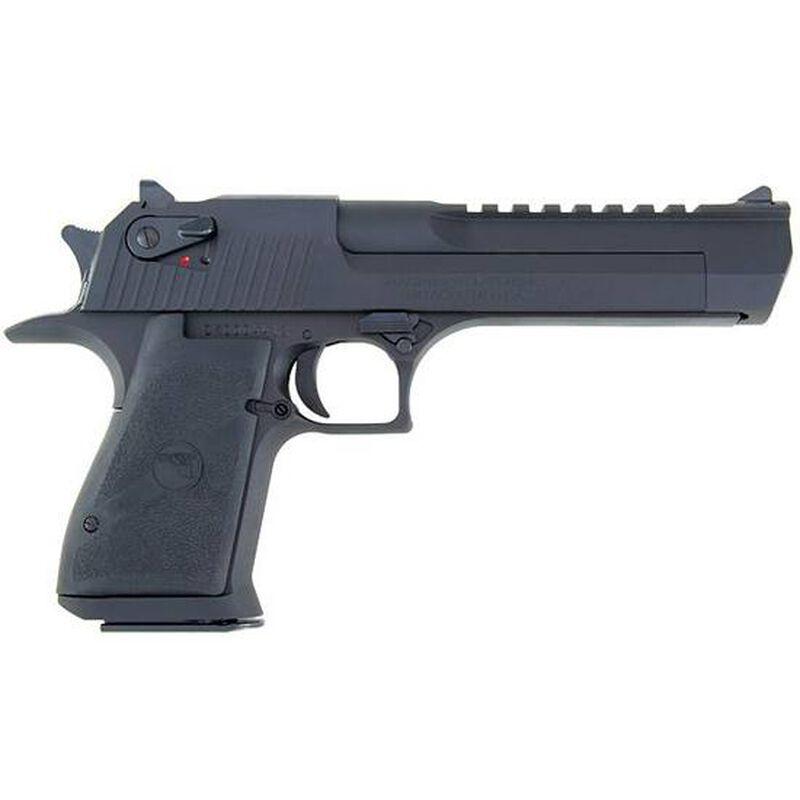 "Magnum Research Desert Eagle Mark XIX Semi Auto Pistol .50 Action Express 6"" Barrel 7 Rounds Fixed Combat Sights Weaver Accessory Rail Black Oxide Finish"
