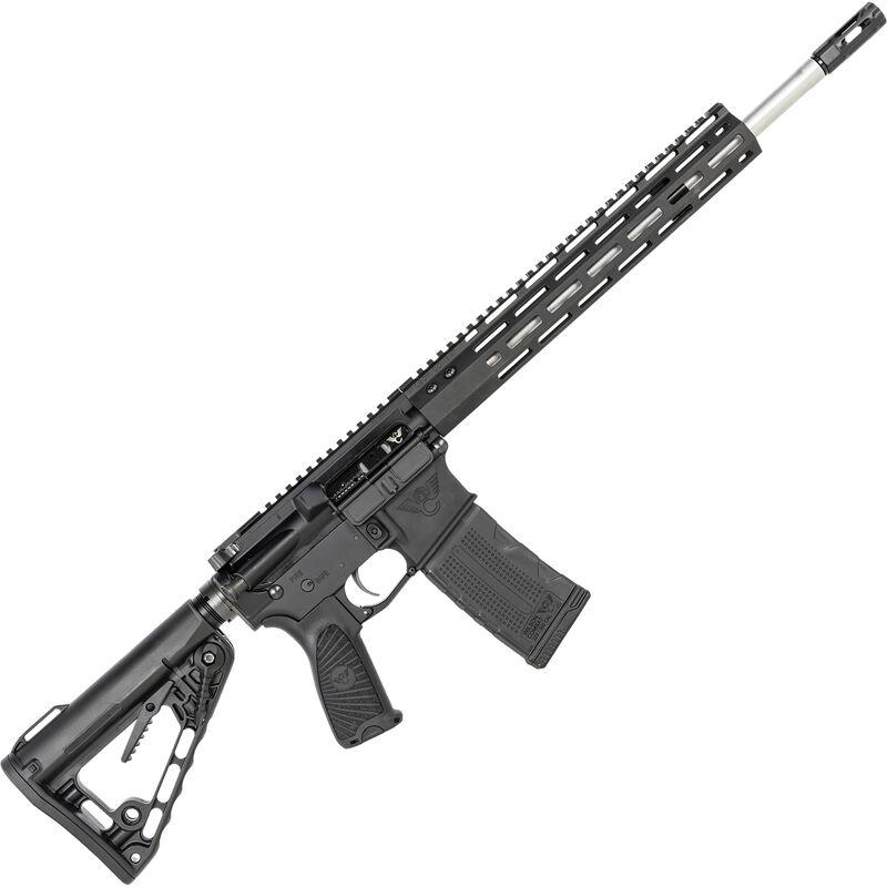 "Wilson Combat Protector Carbine 5.56 NATO AR-15 Semi Auto Rifle 16"" Stainless Steel Barrel 30 Rounds M-LOK Handguard Rogers Super-Stock Black"