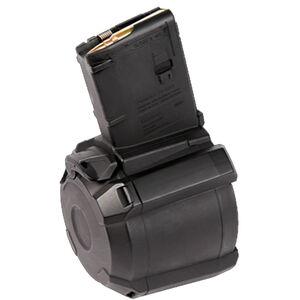 Magpul PMAG D-60 AR-15 Drum Magazine, 5.56/.223, 60 Rounds, Black