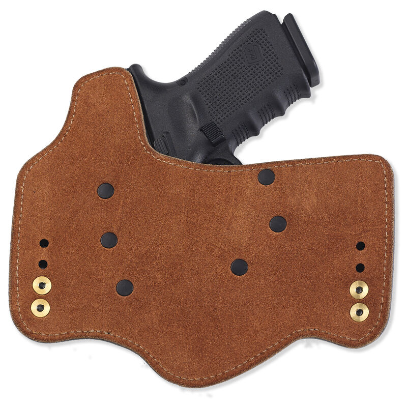 Galco KingTuk GLOCK 17, 19, 26, 22, 23, 27, 31, 32, 33 IWB Holster Left Hand Leather/Kydex Black KT225B
