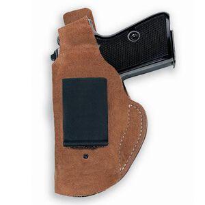 "Galco Waistband S&W J Frame 2 1/8"" Inside Waistband Holster Thumb Break Left Hand Leather Natural WB161"