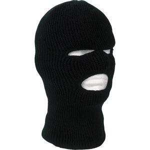 Tru Spec Black Acrylic Face Mask One Size Fit Most Black 3507000