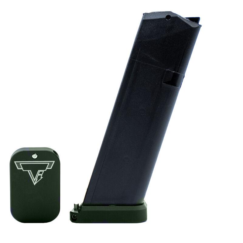 Taran Tactical Innovations Carry Base Pad Kit Fits GLOCK 9mm/.40/.357 Magazine +0 Base Pad OD Green Finish