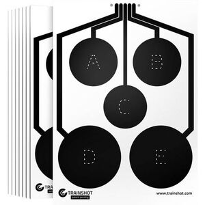 "TRAINSHOT Circle Targets Package of 10 18x24""     TSUSA-0210"