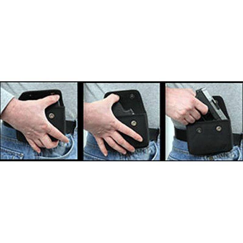 Bulldog Cases Ambidextrous Cell Phone Holster Nylon Pink BD844