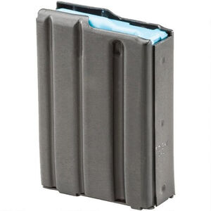 E-Lander AR-15 Magazine 6.5 Grendel 4 Rounds Steel Construction Matte Black Finish