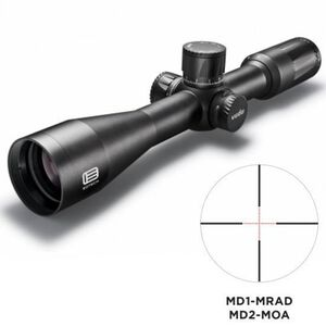EOTech VUDU 2.5-10x44 Precision Riflescope MD-2 Illuminated Reticle 30mm Tube FFP Flat Black VUDU.2-10.FFP.MD2