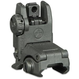Magpul MBUS Gen 2 AR-15 Flip-Up Rear Sight Polymer Black MAG248BLK