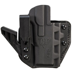 Comp-Tac eV2 Max Holster fits S&W Shield 9/40 Appendix IWB Right Hand Leather/Kydex Black