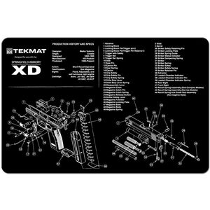 "TekMat Springfield XD Armorer's Mat Neoprene 11""x17"""
