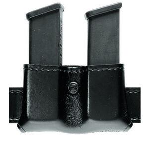 Safariland Model 79 Double Magazine Pouch Fits GLOCK 9mm/.40 Safarilaminate Basket Weave Black