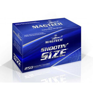Magtech .357 Magnum Ammunition 250 Rounds SJSP 158 Grains MP357A