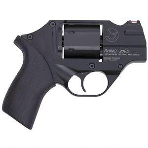 "Chiappa Rhino 200D 357 Mag 2"" 6rds Rubber Grip Black"