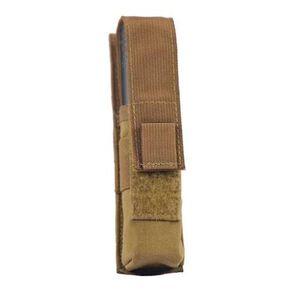 Tac Shield Suppressor/Large Light Belt Pouch Nylon Coyote