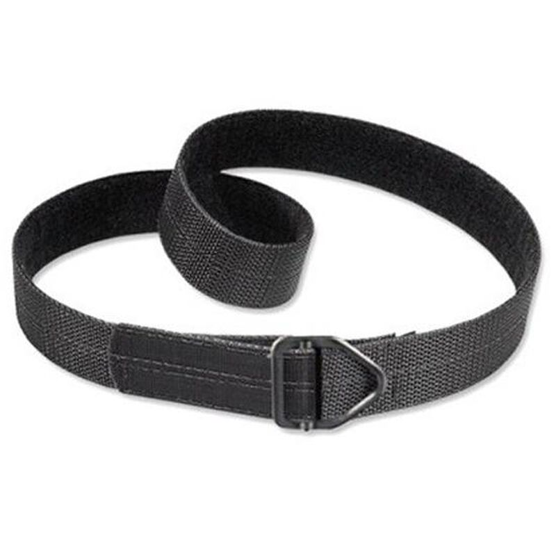 "Uncle Mike's Reinforced Instructor's Belt 1.5"" Poly Reinforced Nylon Black Large 38""-42"""