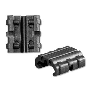 Manta 2-Pack Cross Clip Kit Rail Cover Section Wire Management Synthetic Black MCC-BLK