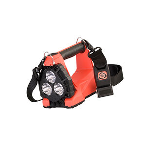 Streamlight Vulcan 180, Nylon, Orange, Rechargeable, 1200 Lumens, Standard Mount System